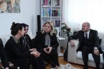 EĞIRDIR GÖLÜ - Vali Çakacak Ve Eşi Şehit Odabaşı'nın Ailesini Ziyaret Etti