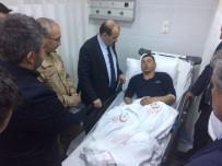 İL SAĞLIK MÜDÜRÜ - Vali Ustaoğlu, Terör Örgütünün Hain Saldırısında Yaralanan Köylüleri Hastanede Ziyaret Etti