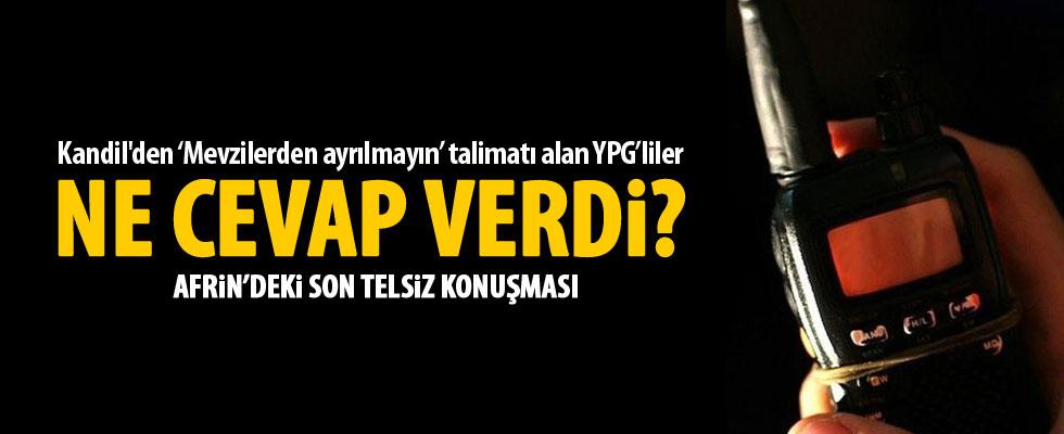 YPG/PKK'lılar ne talimat aldı, ne yaptı?
