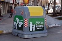 ÇÖP KONTEYNERİ - Aksaray'a Yeni Sistem Çöp Konteyneri