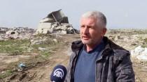 KAYHAN - Dinamitle Yıkılamayan Bina Kendiliğinden Çöktü