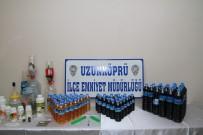 KıRMıZı ŞARAP - Edirne'de Sahte İçki Operasyonu
