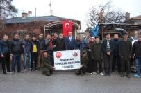 KEMAL YıLMAZ - Erzincan'ın Yöresel Ürünleri Mehmetçiğe Gönderildi