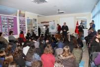 DENİZ KAPLUMBAĞALARI - Fethiye'de Öğrencilere Caretta Carettalar Anlatıldı