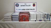 Hasankeyf'te 7 Bin 210 Paket Kaçak Sigara Ele Geçirildi