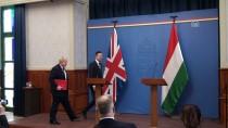 BUDAPEŞTE - Johnson-Szijjarto Ortak Basın Toplantısı