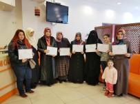 OSMANLıCA - Kadınlar Arapça Kursunu Bitirip Sertifika Aldı