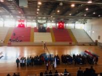 KÜÇÜK KIZ - Kars'ta Okullar Arası Voleybol Turnuvası Başladı