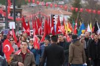 İYİ PARTİ - Kırşehir'de 15 Bin Kişi Mehmetçiğe Destek İçin Yürüdü