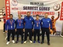 KAĞıTSPOR - Mavi Beyazlı Güreşçiler, Milli Takım Kampına Seçildi