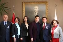 SERBEST MUHASEBECİ MALİ MÜŞAVİRLER ODASI - Muhasebeci Ve Mali Müşavirlerden Başkan Kocadon'a Ziyaret