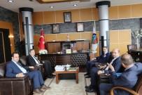 KAMU GÖREVİ - Muhasebeciler Başkan Alemdar'ı Ziyaret Etti