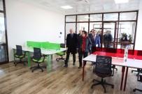 ENERJİ VERİMLİLİĞİ - Müsteşar Yardımcısı Ünal HKÜ'yü Ziyaret Etti
