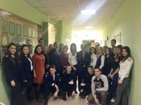 EKONOMİ ÜNİVERSİTESİ - Novorossisk Konsolosu Özigci, Rus Öğrencilere Türkiye Politikasını Anlattı