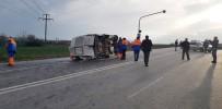 ÇILINGIR - Öğrenci Servisi Kaza Yaptı Açıklaması 1 Ölü, 12 Yaralı
