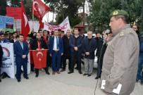 AHMET EROĞLU - Öğrencilerden Şehitler İçin Yürüyüş Ve Afrin'deki Mehmetçiğe Mektup
