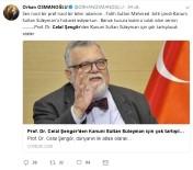 CELAL ŞENGÖR - Profesör Celal Şengör'e sosyal medyadan büyük tepki yağdı