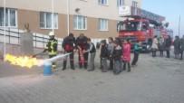 HALITPAŞA - Saruhanlı'da Öğrencilere Yangın Söndürme Eğitimi