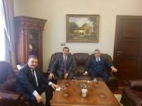 MEHMET ERDEM - Savaş Ve Erdem Aydın'daki Sağlık Yatırımları Hakkında Bilgi Aldı