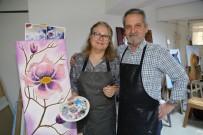 MESUT ÖZAKCAN - Saygı Çifti Efeler Belediyesi İle Sanata Gönül Verdi