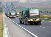 Sınıra askeri sevkiyat devam ediyor