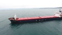 DEMIRLI - Sinop'ta Patlama Olan Gemi Liman Yakınlarına Demirledi