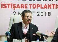 RıFAT HISARCıKLıOĞLU - TOBB Başkanı Hisarcıklıoğlu Safranbolu TSO'da İstişare Toplantısına Katıldı