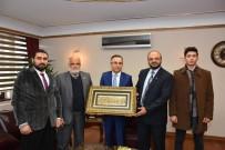 KARABÜK ÜNİVERSİTESİ - Vali Çeber, Filistin Heyetini Kabul Etti