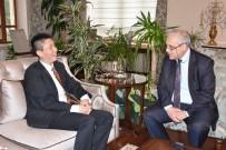 MUSTAFA HAKAN GÜVENÇER - Vali Güvençer Çin Başkonsolosunu Ağırladı