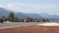 ASKERİ ARAÇ - Afrin'e Sinyal Kesici Askeri Araçlar Gönderildi