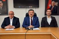 TUTARSıZLıK - AK Parti İl Başkanlığı Haftalık Basın Toplantısı