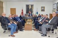 BÜYÜKŞEHİR BELEDİYESİ - Başkan Albayrak Ziraat Odaları Başkanları İle Bir Araya Geldi