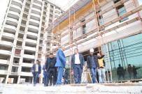 BÜYÜKŞEHİR BELEDİYESİ - Başkan Çelik, Talas Sosyal Yaşam Merkezi İnşaatında İncelemelerde Bulundu