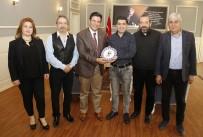 FUTBOL TAKIMI - Başkan Genç, TSYD Antalya Şubesi'nin Yeni Yönetimini Ağırladı