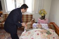YAŞLILAR HAFTASI - Başkan Mengi Ev Ev Dolaşıp Yaşlıları Ziyaret Etti