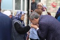 SOSYAL HİZMETLER - Başkan Şirin, Huzurevinde Kalan Yaşlılarla Buluştu