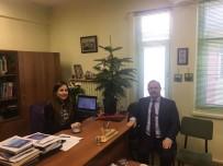 SAVUNMA SANAYİ - Deligöz'den Ödüllü Akademisyene Ziyaret