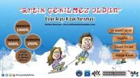 ERCIYES - Eşler, Kızak Yarışıyla Erciyes'te Sevgilerini Tazeleyecek