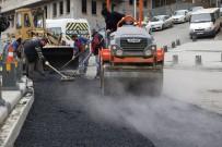 KALDIRIMLAR - Eyüpsultan'da Caddeler Düzenleniyor
