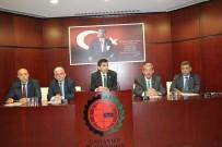 KOÇAK - GTO'da Meslek Komite Başkanları, Yönetim Kurulu Üyeleri İle Bir Araya Geldi