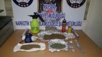ALÜMİNYUM FOLYO - Kayseri Polisinden Uyuşturucu Operasyonu