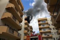 KIRMIZI GÜL - Kuşadası'nda Korkutan Yangın
