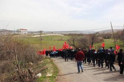 Malatya'da Öğrenciler Mehmetçik İçin Yürüdü