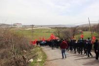 MEHTER TAKIMI - Malatya'da Öğrenciler Mehmetçik İçin Yürüdü