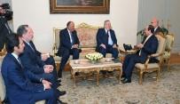 YUNANİSTAN DIŞİŞLERİ BAKANI - Mısır Devlet Başkanı Abdülfettah Es-Sisi, Yunanistan Dışişleri Bakanı Nikos Kocyas'ı Kabul Etti