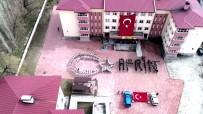 Öğrencilerden 'Afrin' Koreografisi