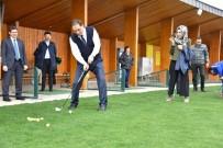 ŞEREF MALKOÇ - Ombudsman Golf Sahasını Gezdi