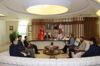İLHAMI AKTAŞ - Rektör Bağlı, II. Abdülhamid Han'ın Torunu Osmanoğlu'nu Makamında Ağırladı