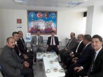TÜRK EĞITIM SEN - Rektör Karacoşkun'dan Türk Eğitim Sen'i Ziyaret Etti