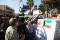 SADAKATAŞI - Sadakataşı'ndan Afrin Kent Merkezine İnsani Yardım